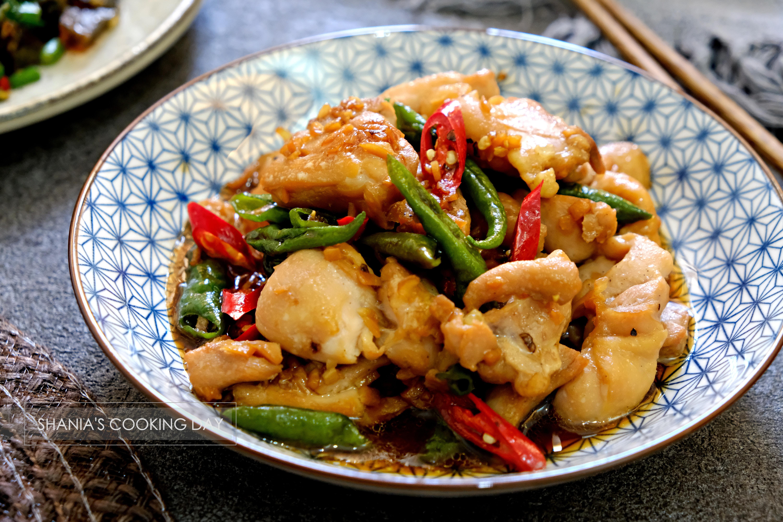 糯米椒炒嫩雞 - 簡易便當菜