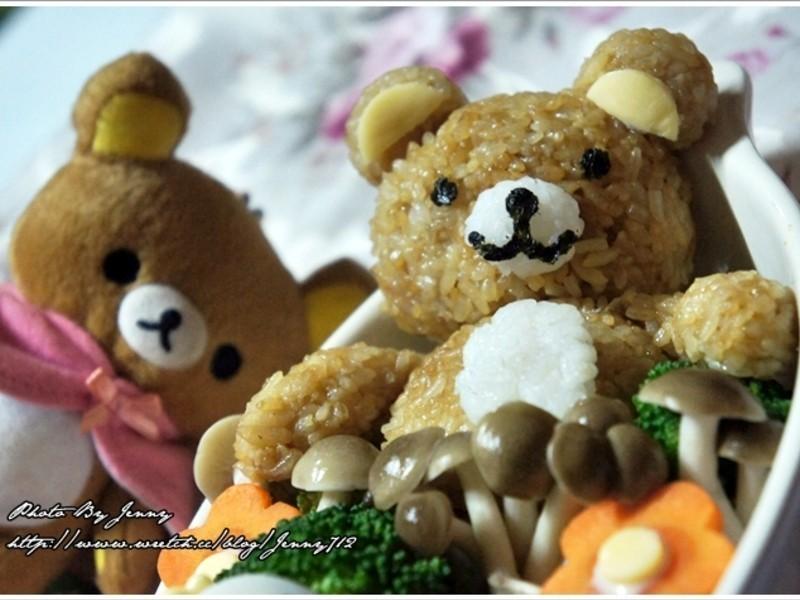 和風蔬食鮮菇懶懶熊