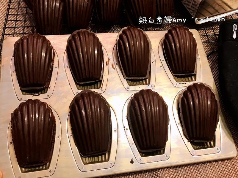 法式脆皮巧克力瑪德蓮