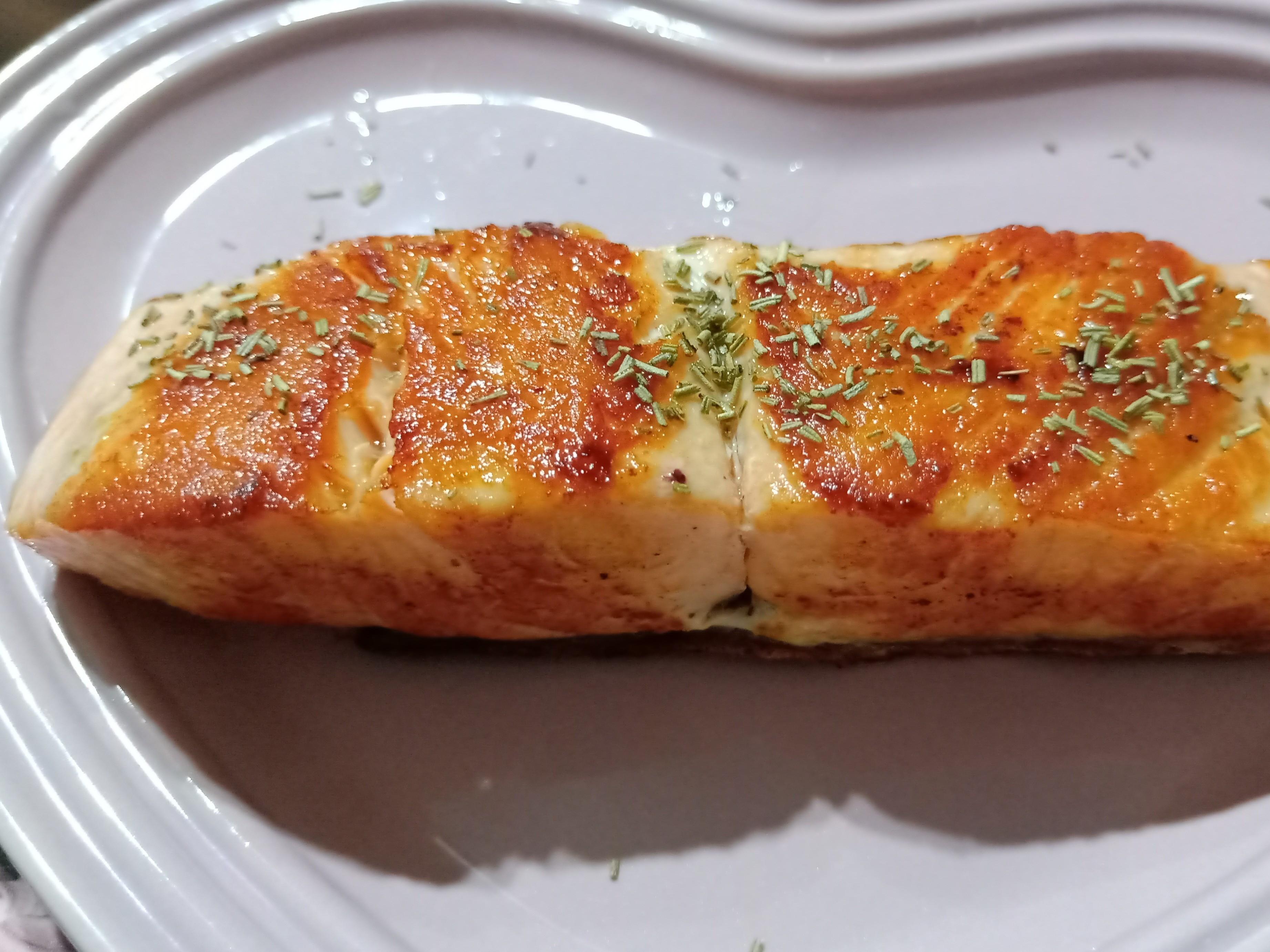 超好吃嫩煎鮭魚排