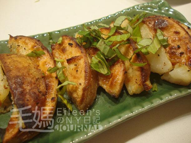 椒鹽烤薯角 Baked potato wedges