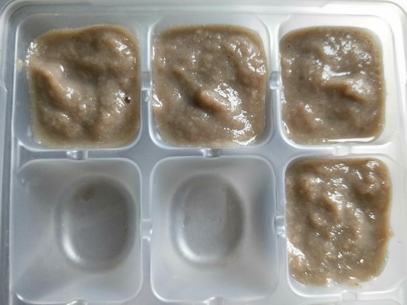 電子鍋副食品-洋菇泥