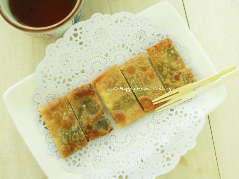 豆沙鍋餅 ~ 香脆甜美