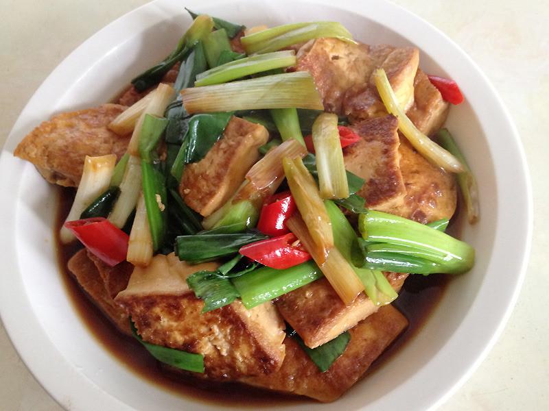 【李媽媽的家常菜】紅燒豆腐