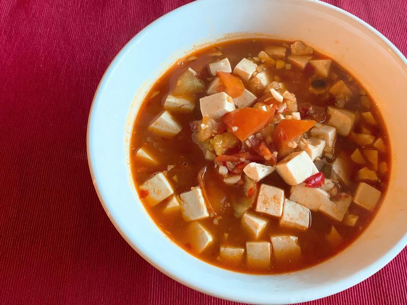 麻婆豆腐(五辛素)