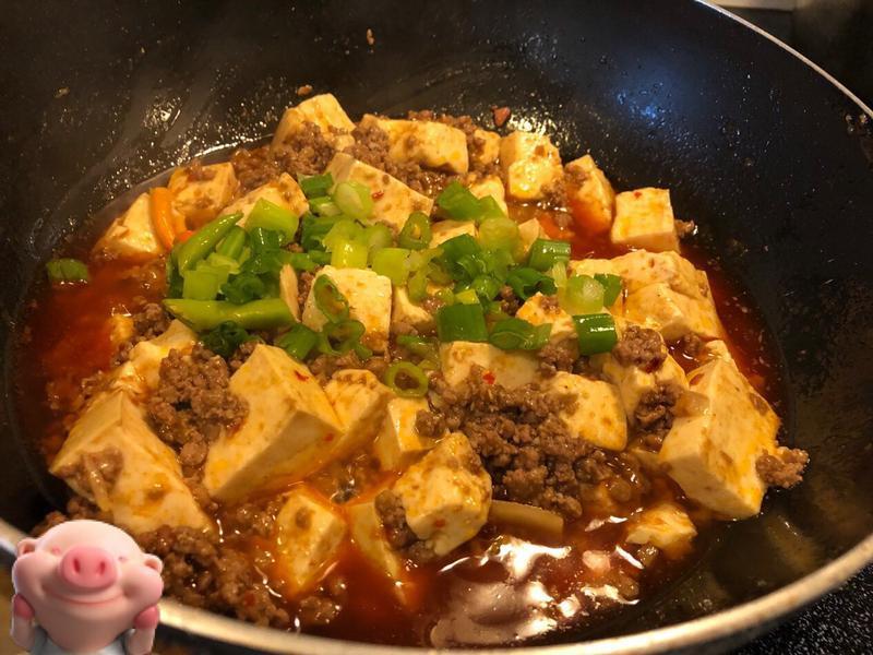 簡單料理包麻婆豆腐