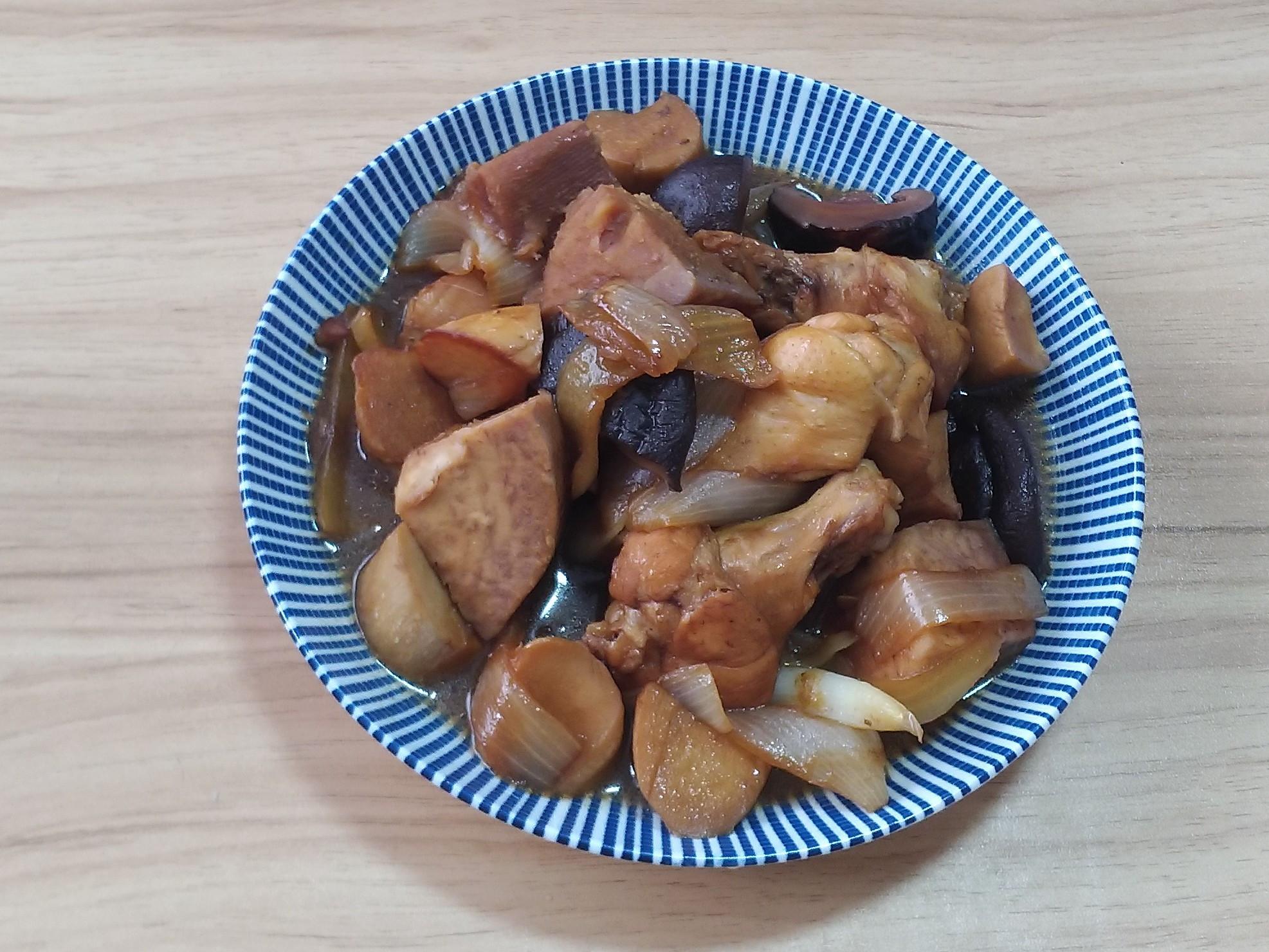 香菇芋頭燒雞