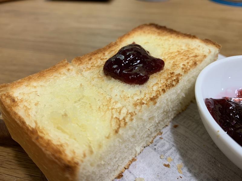 巨峰葡萄果醬/鮮奶吐司快速法