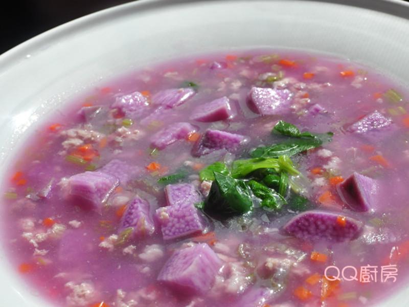 「四季江戶味之秋季料理」紫色奇蹟