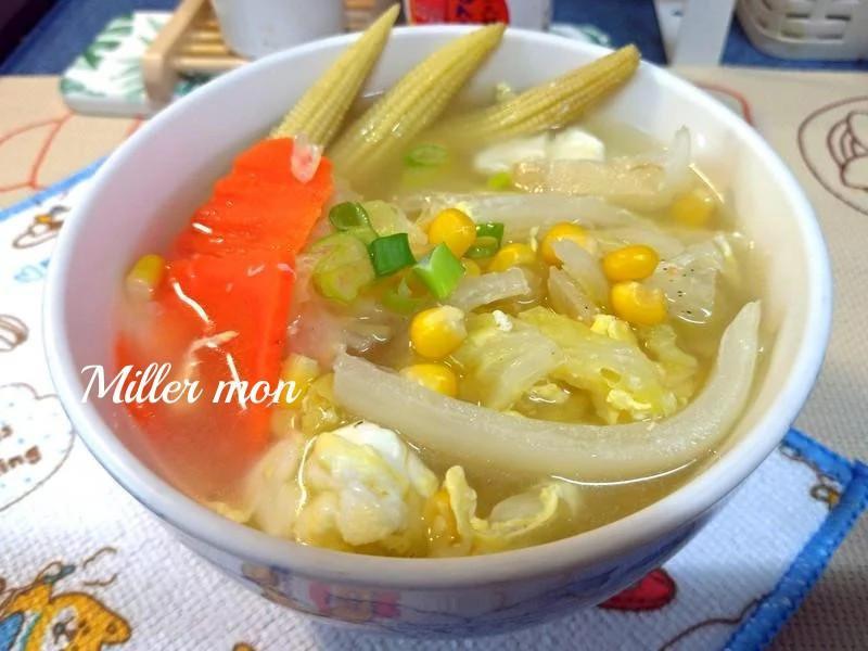 三蔬白菜煲湯