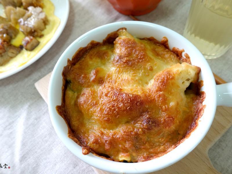 【粽子創意料理】焗烤蔬菜粽