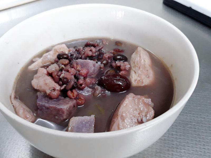 三豆山藥雞胸湯