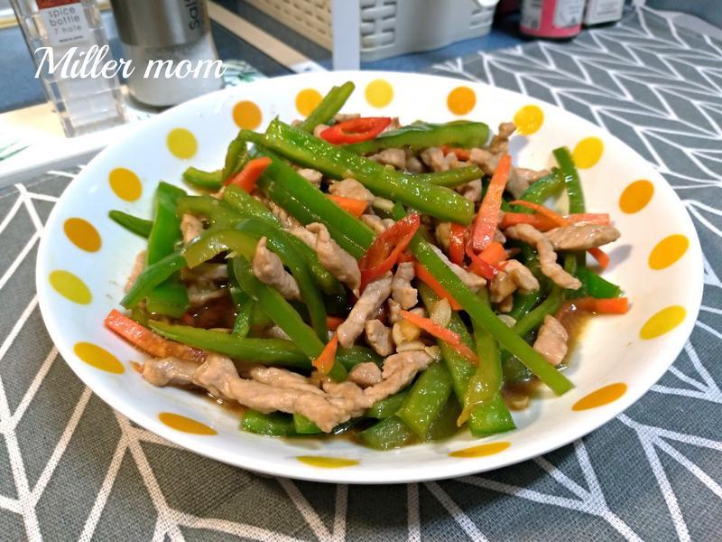 豆鼓青椒炒肉絲