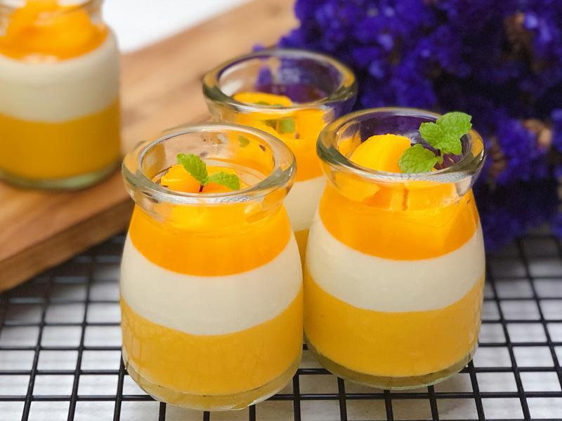 🥭芒果椰奶凍🥥