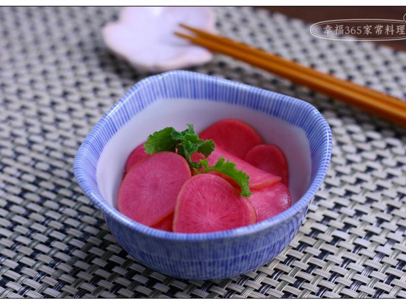 醃漬櫻桃蘿蔔