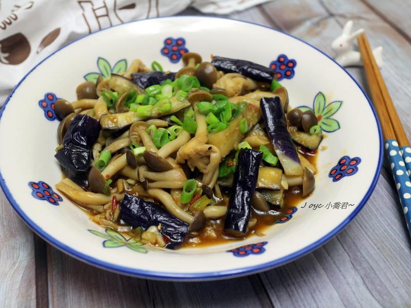 開胃!魚香菇菇燒茄子~【好菇道營養料理】
