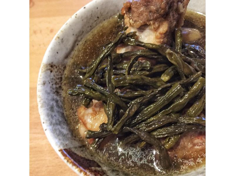 客家菜豆乾排骨湯