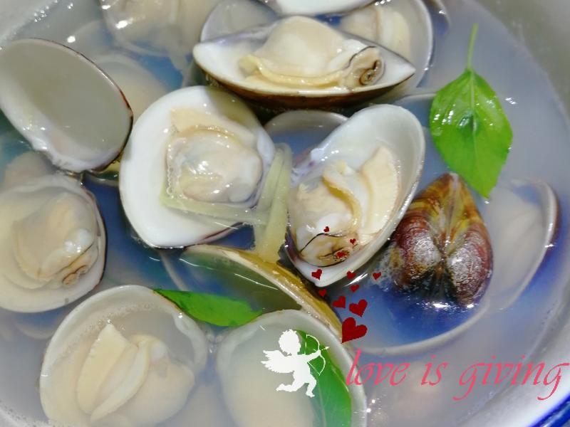 超鮮肥美蛤蜊湯(訣竅是..)