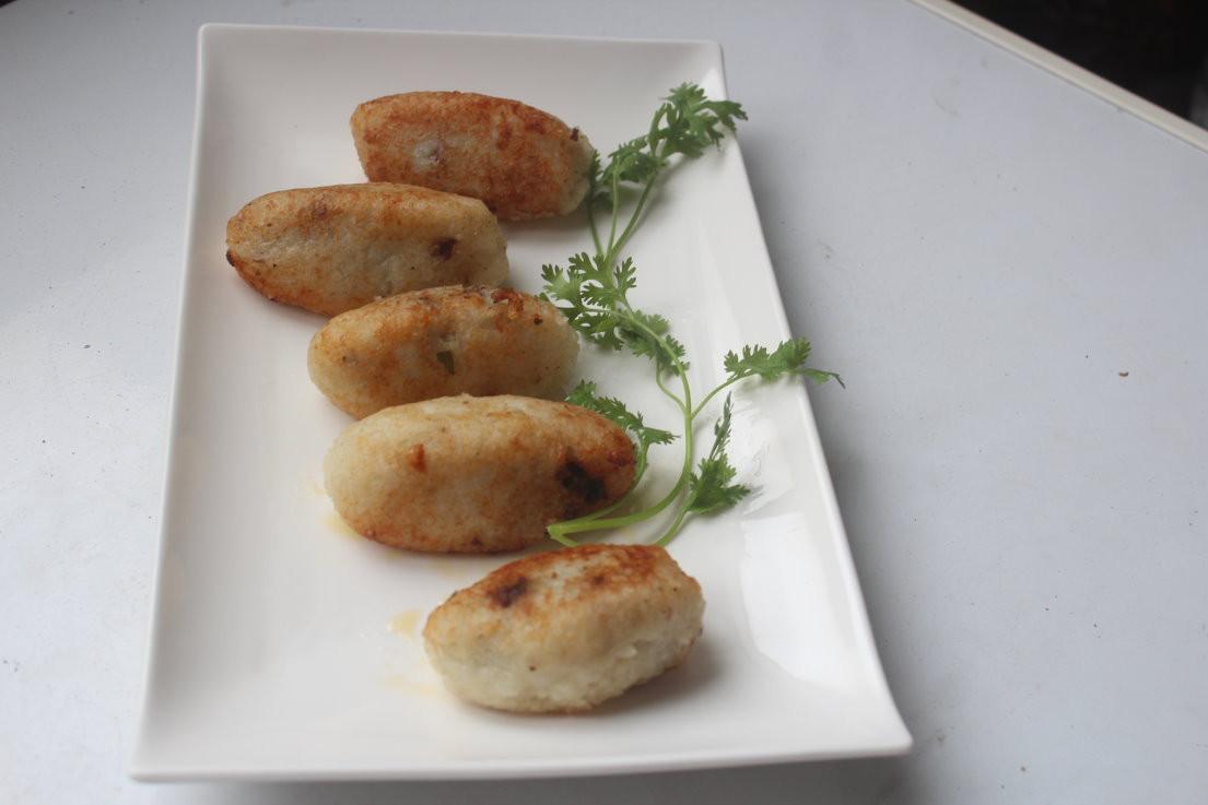 伊拉克馬鈴薯米肉丸kubbat