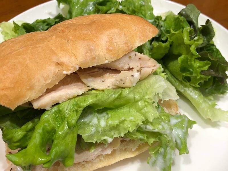 高蛋白「義式雞胸優格三明治」370卡