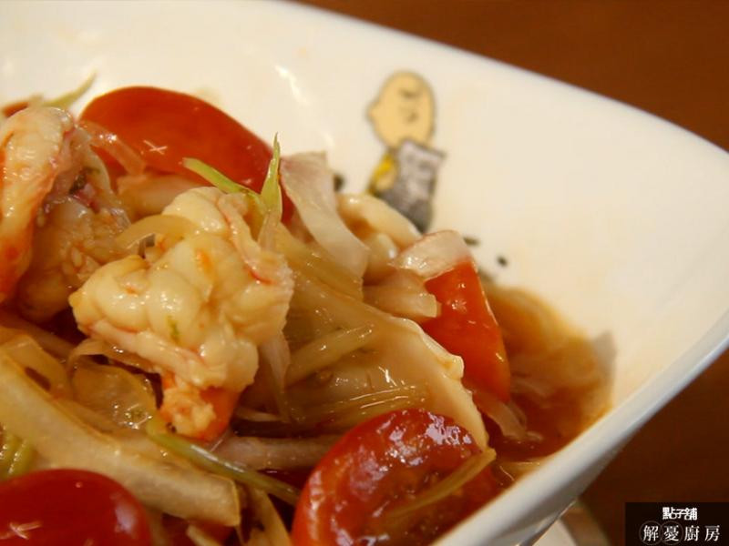 泰式涼拌海鮮