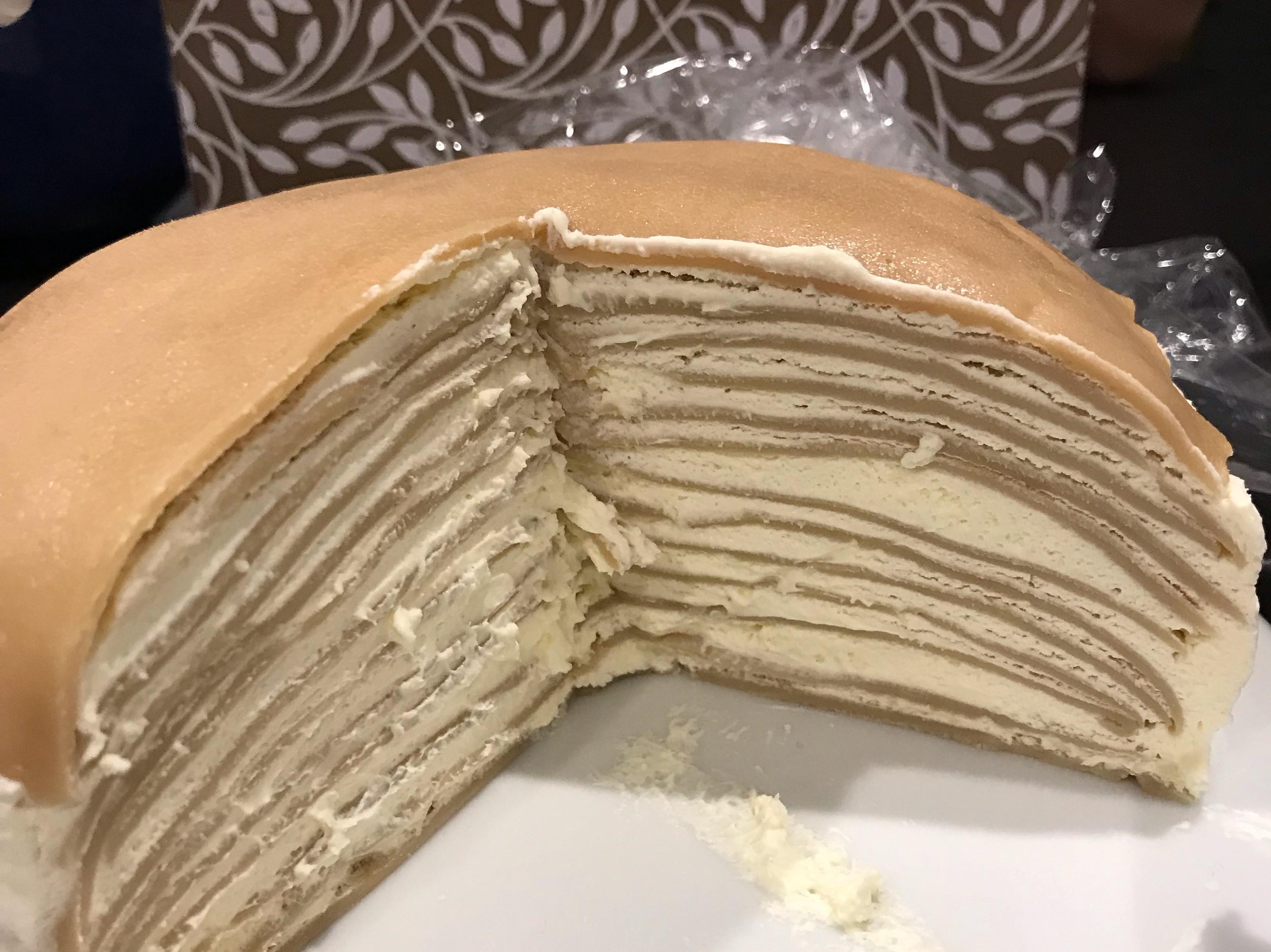 伯爵茶千層蛋糕