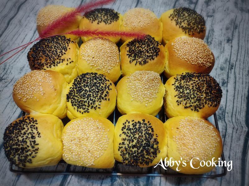 南瓜馬鈴薯芝麻餐包(低溫冷藏發酵)