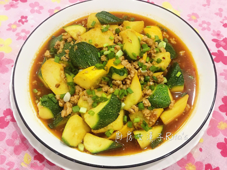 辣豆瓣醬櫛瓜