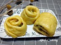 南瓜馬鈴薯蔥花饅頭