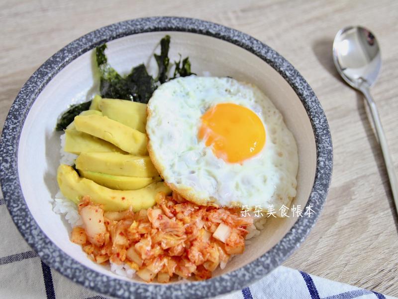 韓式酪梨拌飯