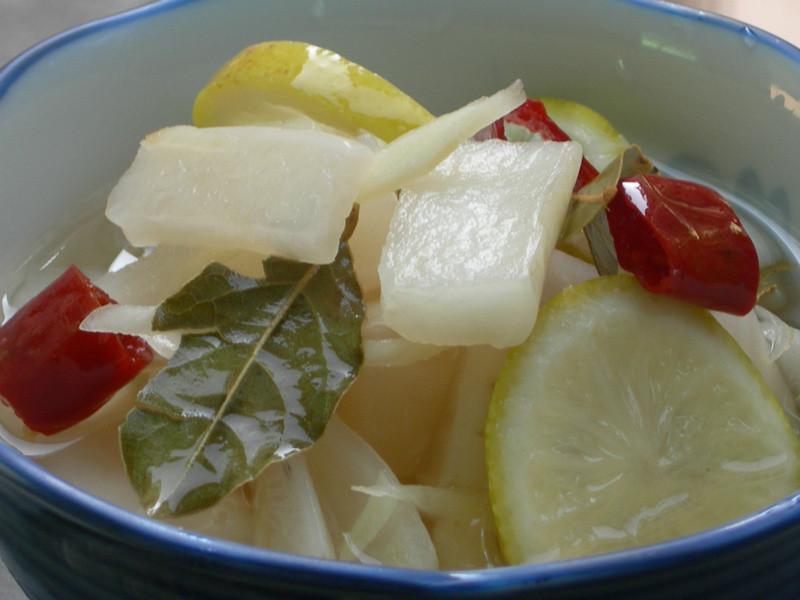 白玉蘿蔔泡菜