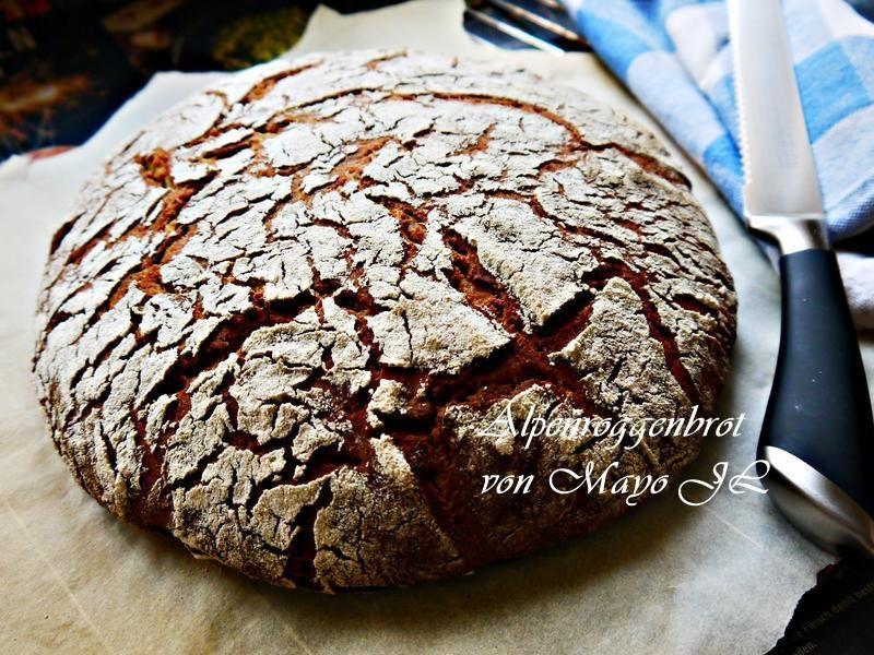 阿爾卑斯山黑麥麵包