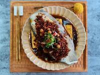 豆酥蒸白鱈
