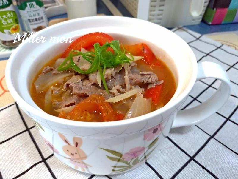 清燉蕃茄牛肉湯