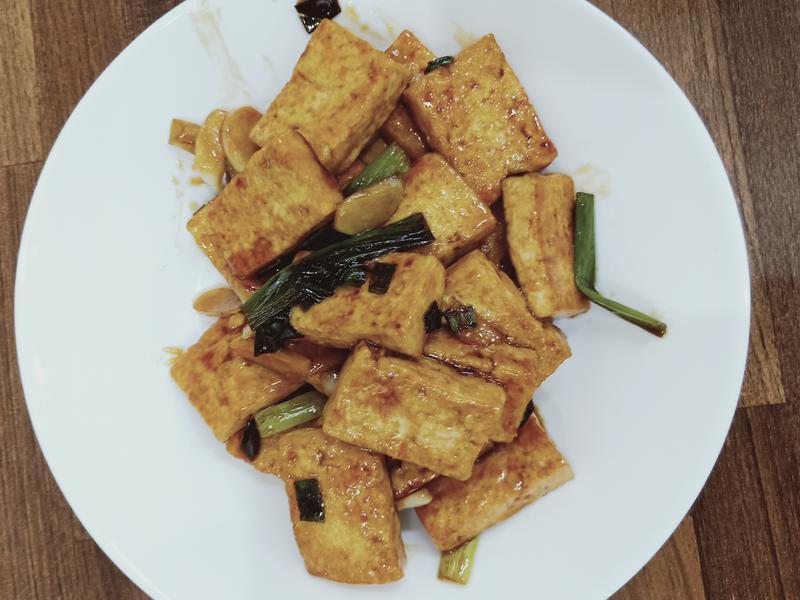 醬炒板豆腐