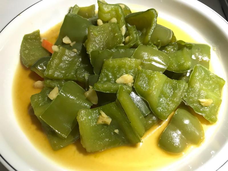 👩🏻🍳蒜炒青椒-軟質口感