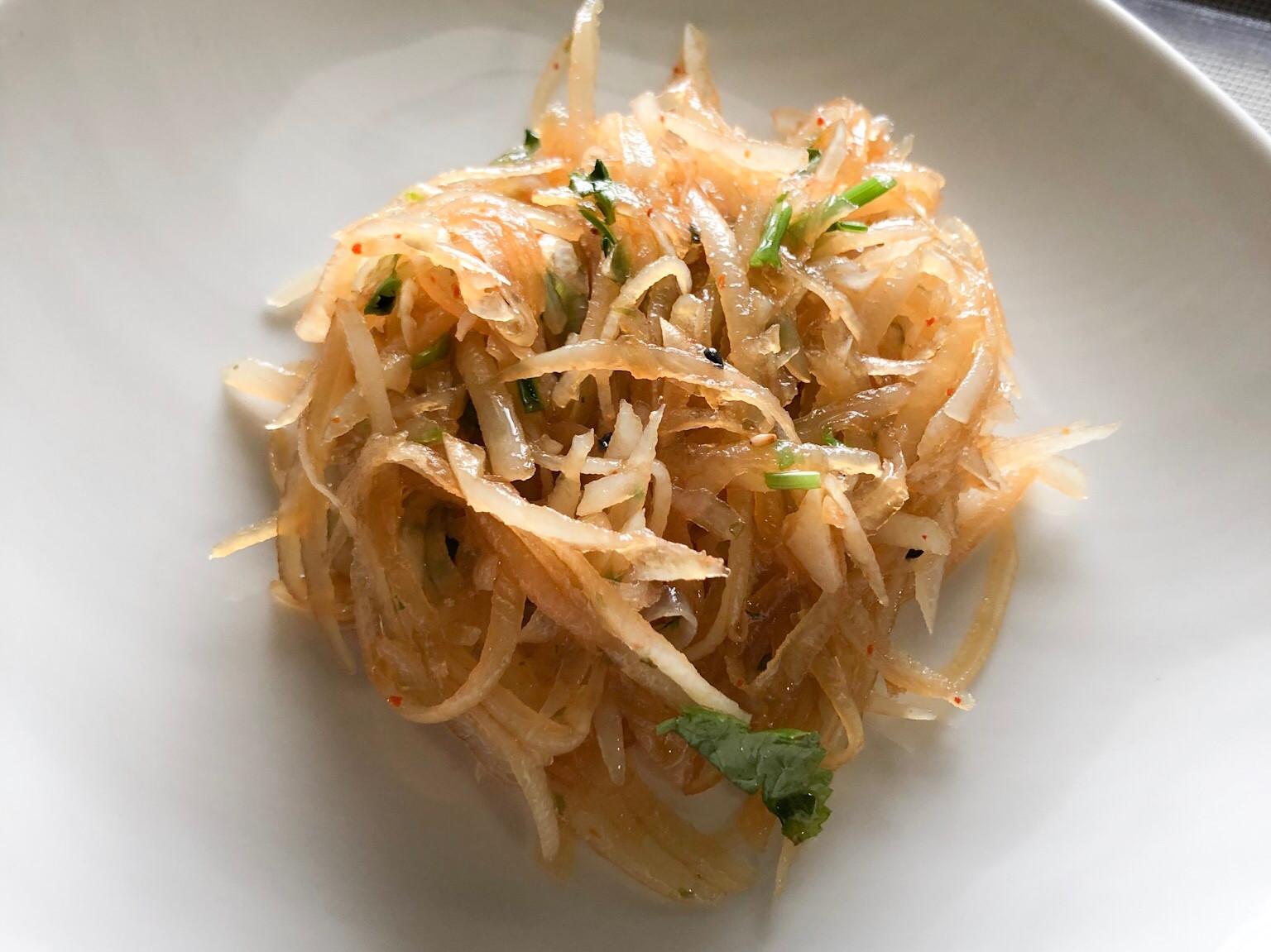 涼拌土豆絲(馬鈴薯絲)