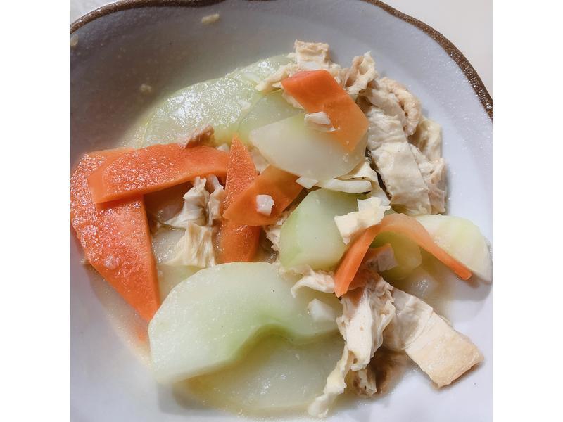 大黃瓜清炒豆皮