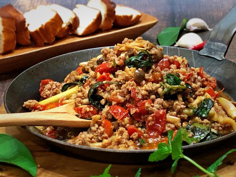 泰式打拋菇 - 好菇道營養料理