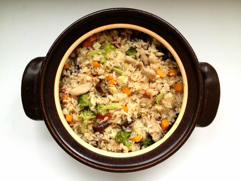 【四季江戶味之秋季料理】秋之采鮮蔬蛤蜊雞肉燉飯