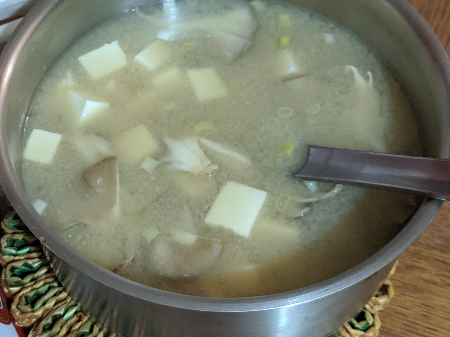 味噌湯-終於成功了!