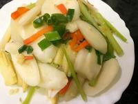 筊白筍炒時蔬