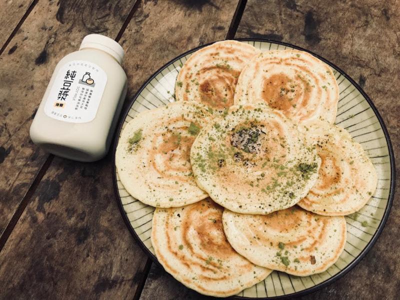 豆漿鬆餅 禾乃川小廚房