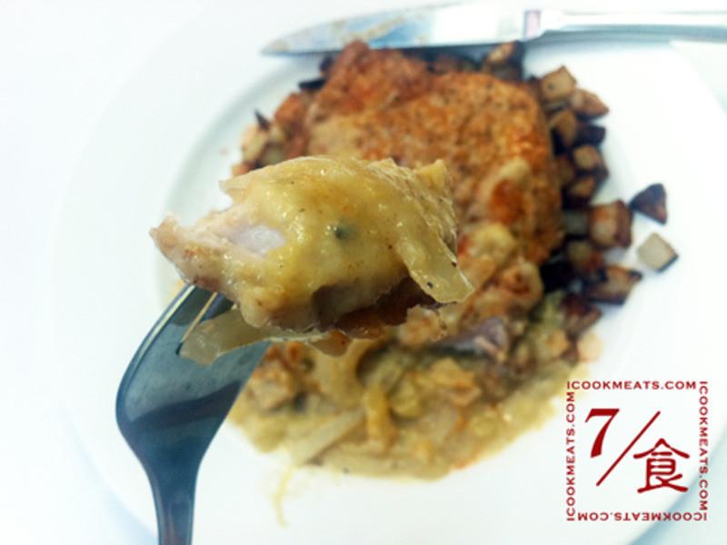 【7/食】豬排和蘋果奶醬