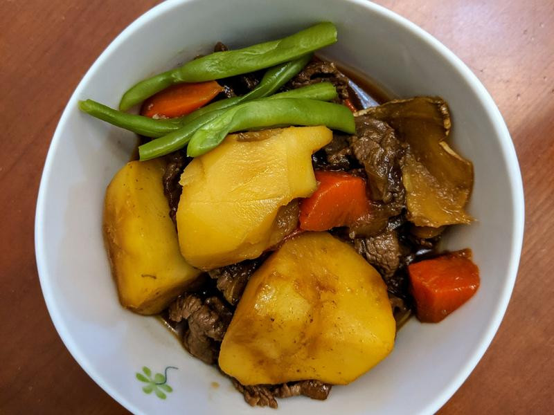 馬鈴薯燉肉-成功, 但湯有點太甜