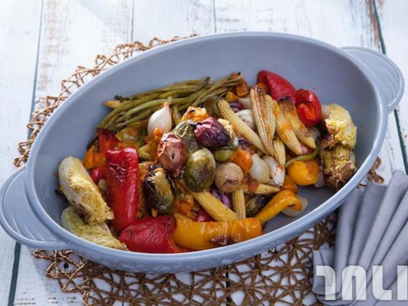 低醣料理 <沙拉> 香料烤時蔬