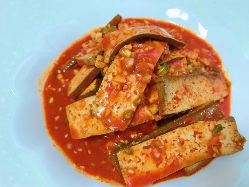韓式涼拌豆乾