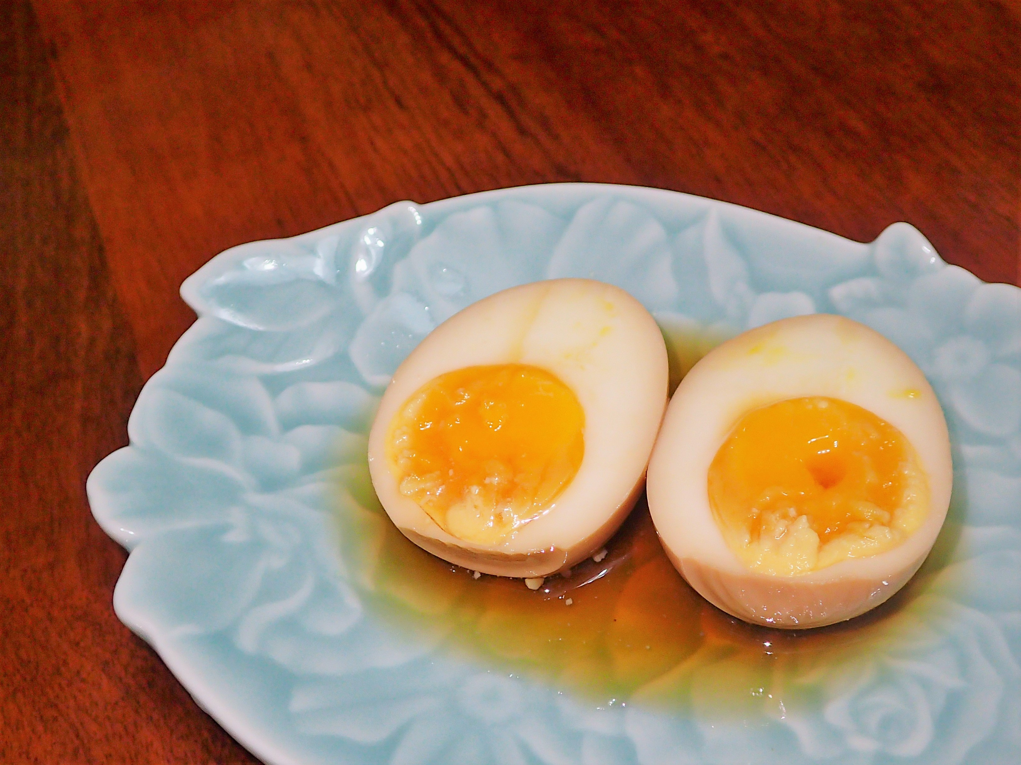 玄米茶糖心蛋