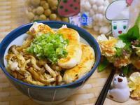 蔥鹽醬香菇菇嫩雞蓋飯【好菇道營養料理】