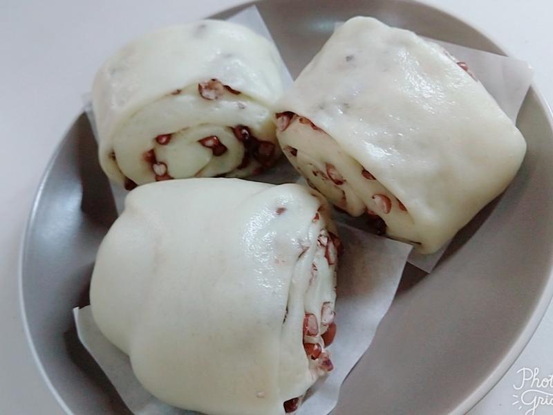 蜜紅豆饅頭